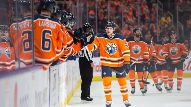 Leon Draisaitl hat die Edmonton Oilers zum Auftaktsieg gegen die Vancouver Canucks geführt