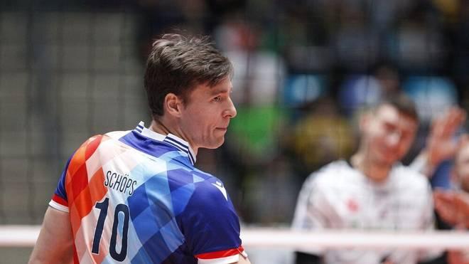 Jochen Schöps spielt bei den United Volleys Frankfurt