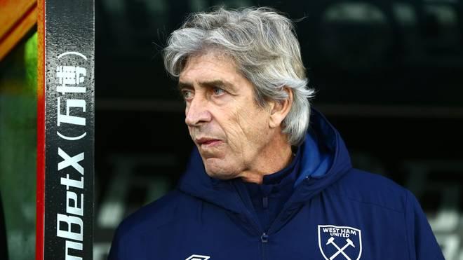 Manuel Pellegrini muss bei West Ham United seinen Hut nehmen