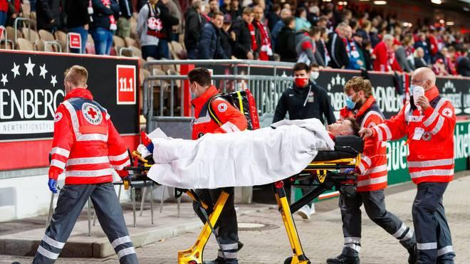 Dominik Schad verletzte sich schwer