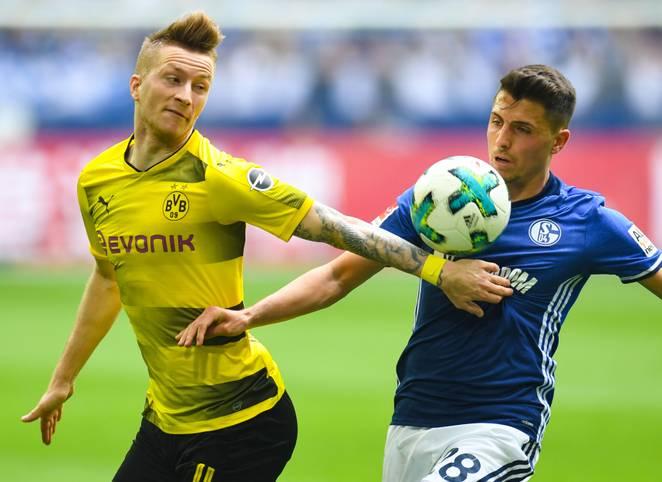 Vor dem Derby zwischen Schalke 04 und Borussia Dortmund am Samstag kribbelt es im ganzen Revier. Dabei könnte die jeweilige Stimmung nicht unterschiedlicher sein: Während der BVB auf Wolke sieben schwebt ...