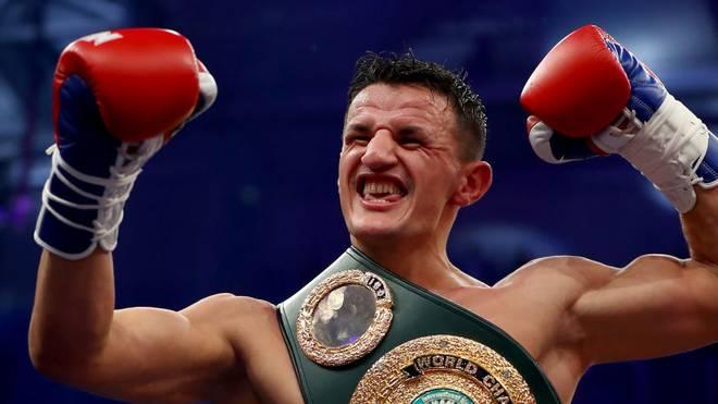 Robin Krasniqi ist nun Weltmeister der IBO und Interims-Champion der WBA