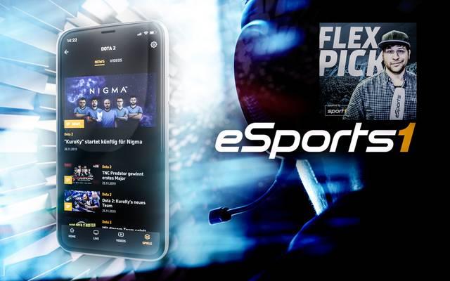 Die kostenlose App für eSports-Fans: SPORT1 erweitert sein digitales Angebot und launcht neue eSPORTS1 App und eSports-Podcast
