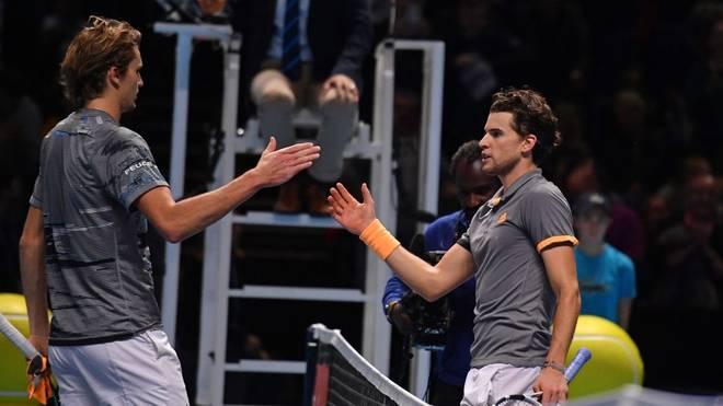 Alexander Zverev trifft im Halbfinale von Melbourne auf Dominic Thiem
