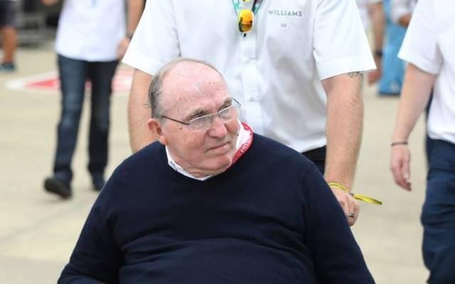 Sir Frank Williams befindet sich im Krankenhaus