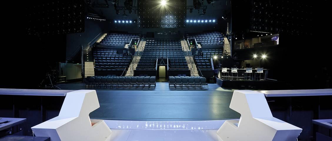 Reichlich Platz für eSports-Fans bietet die neue Arena in Los Angeles.