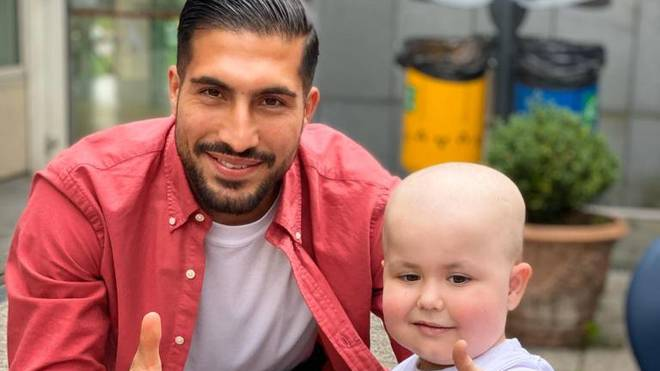 Emre Can im Turiner Kinderhospiz