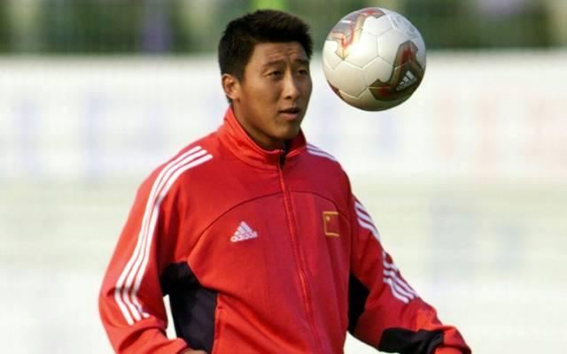 Zhang Enhua bei der WM 2002 in Südkorea und Japan