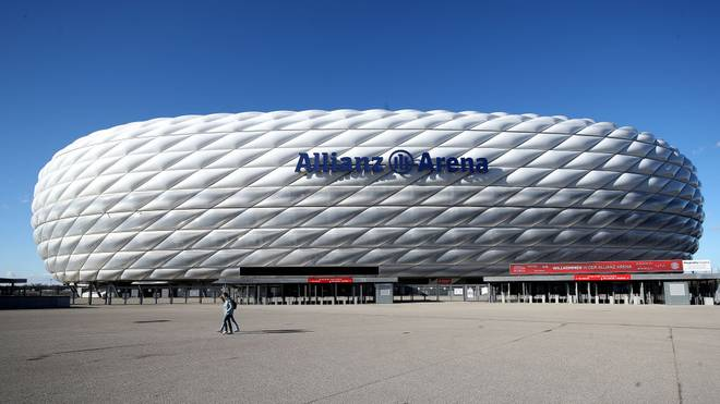 In der Allianz Arena sollen vier EM-Spiele stattfinden