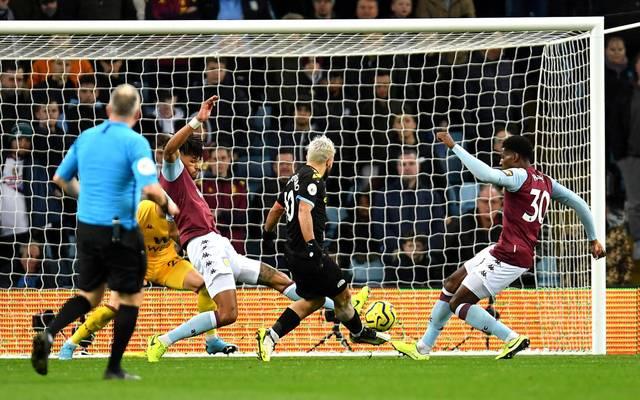 Sergio Agüero schnürte gegen Aston Villa einen Dreierpack