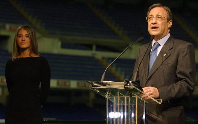 Florentino Pérez wurde 2000 Präsident von Real Madrid