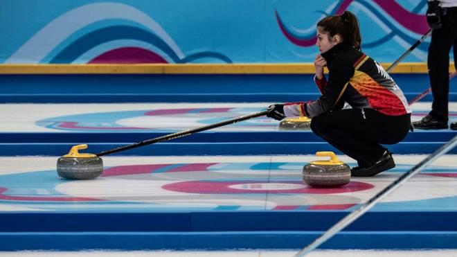 Die deutschen Curlerinnen gewannen gegen Tschechien