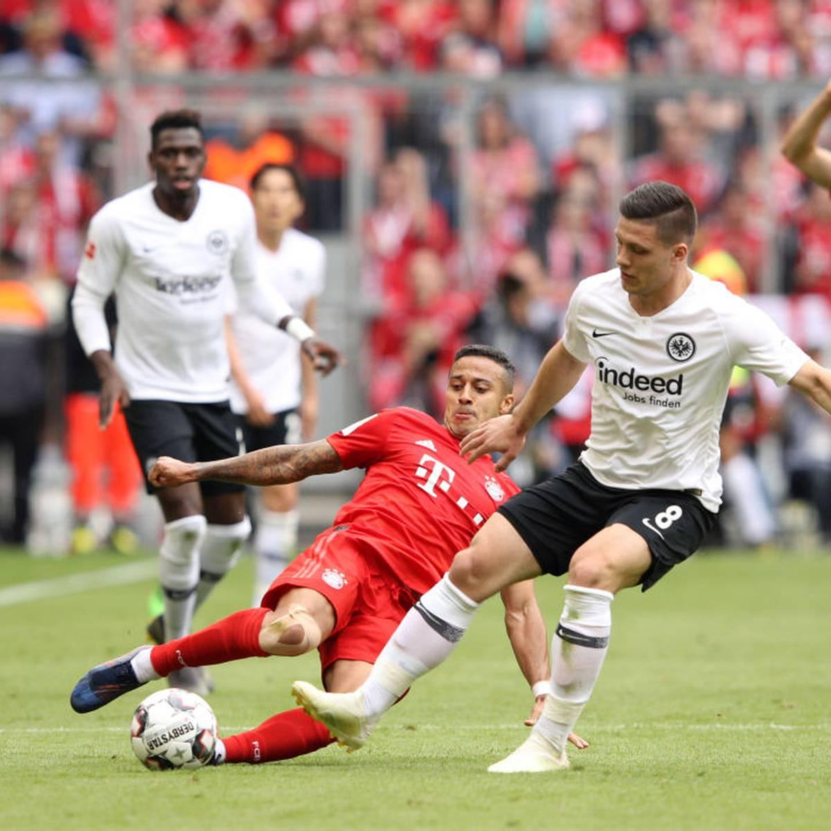Bundesliga Eintracht Frankfurt Fc Bayern Live Im Free Tv
