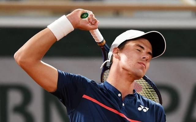 Daniel Altmaier schaffte es bei seinem ersten Grand-Slam-Turnier bis ins Achtelfinale