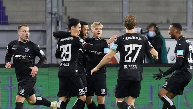 Magdeburg jubelt über einen knappen Auswärtssieg in Duisburg