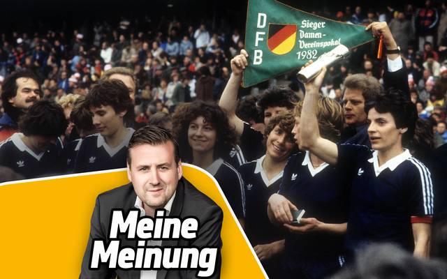 Für den Frauenfußball muss beim DFB noch mehr getan werden, kommentiert SPORT1-Chefredakteur Pit Gottschalk