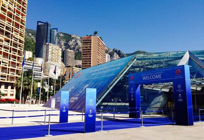 Die UEFA lädt bei Traumwetter nach Monaco ins Grimaldi-Forum, wo die Gruppenphase der Europa League ausgelost wird. Ob die deutschen Vereine nach der Auslosung mit der Sonne um die Wette strahlen können?