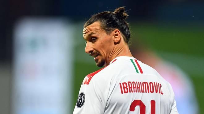 Zlatan Ibrahimovics Vertrag läuft nach der Saison aus