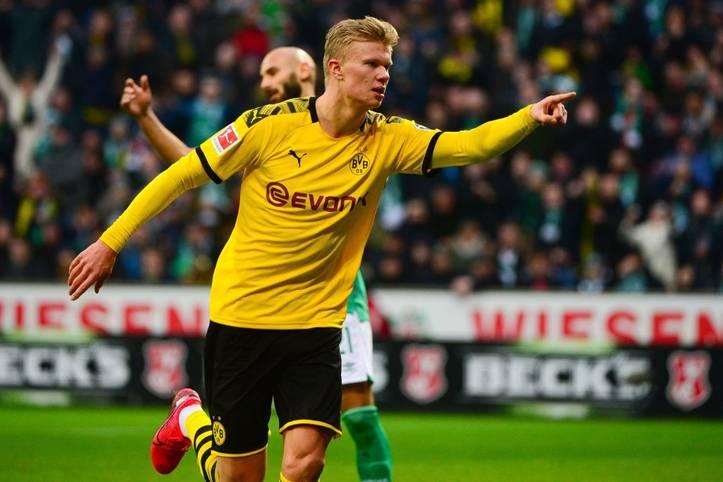 Er trifft und trifft und trifft. Die irre Rekord-Show von Erling Haaland geht weiter. Der Treffer gegen Werder Bremen war bereits der neunte im sechsten Bundesliga-Spiel. Das schaffte vor dem Norweger noch keiner