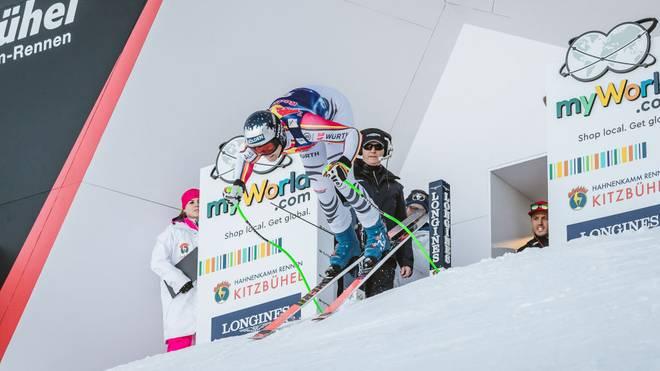 Thomas Dreßen gewann 2018 sensationell die Abfahrt in Kitzbühel