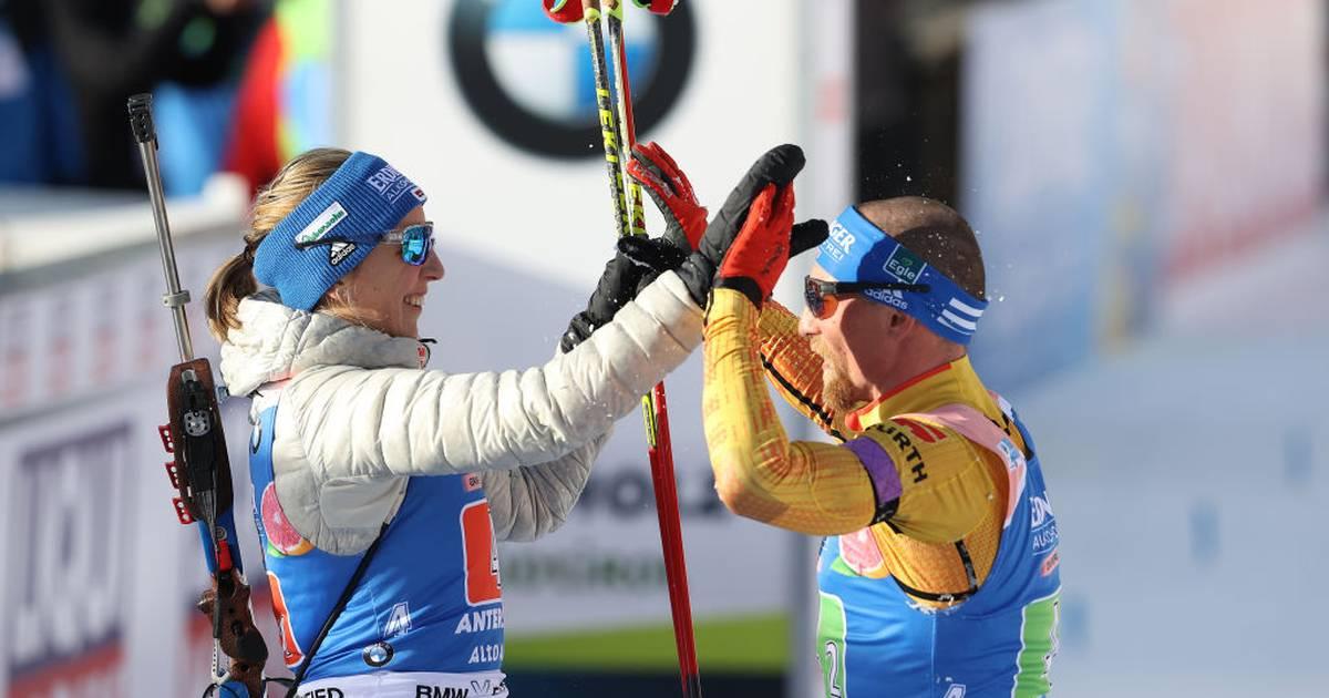 Sport-Tag: Lesser und Preuß holen Silber in Mixed-Staffel - Deutsches Trio in EL