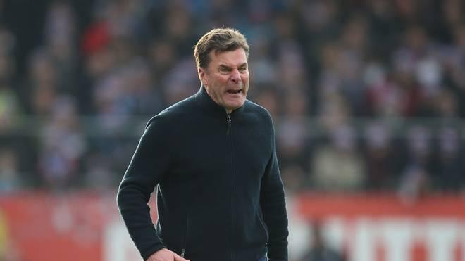 Dieter Hecking drohte ein Platzverweis gegen Kiel