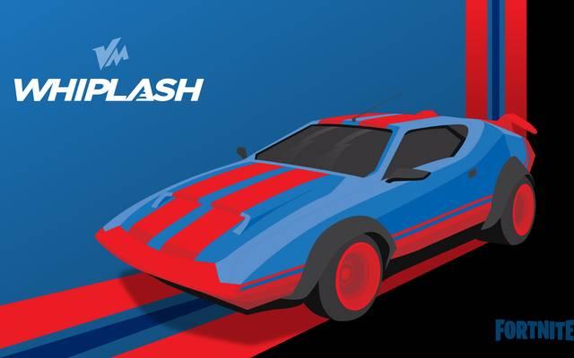Whiplash ist nur eines von vier bestätigten Autos im neuesten Fortnite Update.