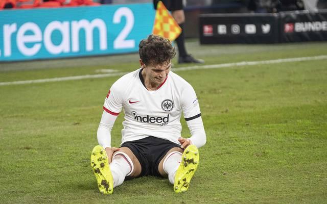 Lucas Torró wurde in Frankfurt immer wieder von Verletzungen zurückgeworfen