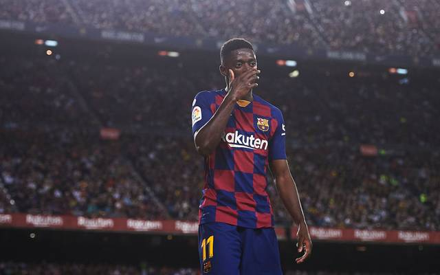 Barca-Profi Ousmane Dembélé sah gegen Sevilla die Rote Karte
