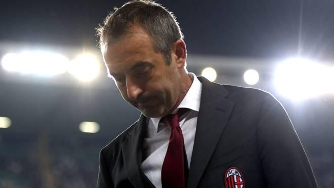 Muss nach nur sieben Spielen bei der AC Mailand den Hut nehmen: Trainer Marco Giampaolo
