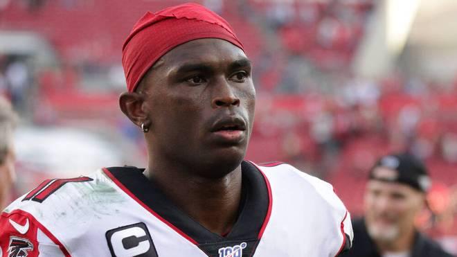 Julio Jones war seit 2011 für die Atlanta Falcons aktiv