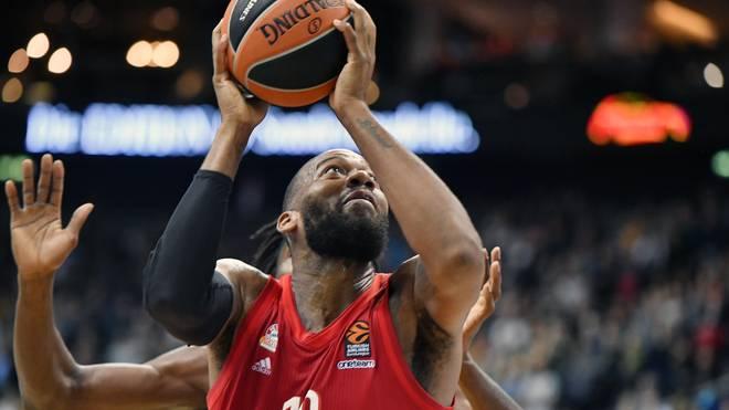 Greg Monroe war bester Werfer der Bayern-Basketballer in Barcelona