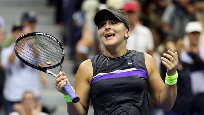 Bianca Andreescu steht erstmals im Halbfinale der US Open