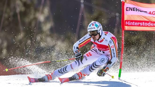 Stefan Luitz' Aufholjagd bescherte ihm mit Platz acht sein bestes Saisonergebnis im Riesenslalom