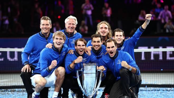 Team Europe war beim Laver Cup bisher bei allen drei Ausgaben siegreich
