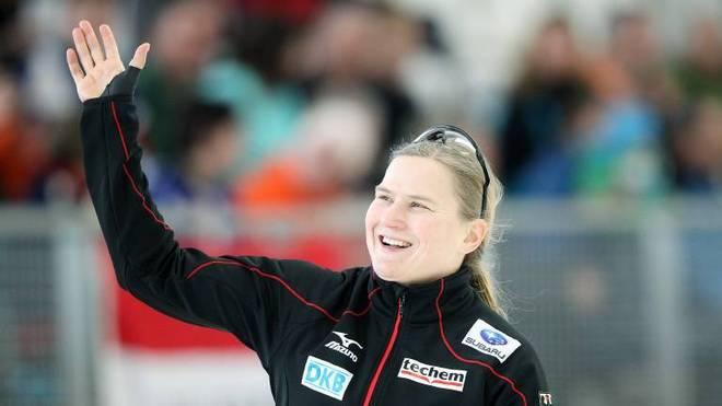 Die fünfmalige Weltmeisterin Jenny Wolf soll den Erfolg für den DESG zurückbringen