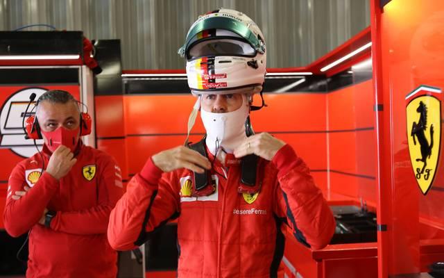 Sebastian Vettel geht beim Portugal-GP von Rang 15 aus in das Rennen