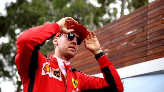 Sebastian Vettel fährt seit 2015 für Ferrari