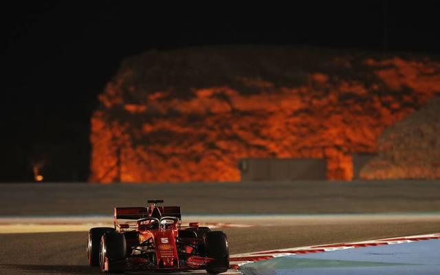 Bei Sebastian Vettel sorgte in den Freitagstrainings lediglich die Natur für Spektakel
