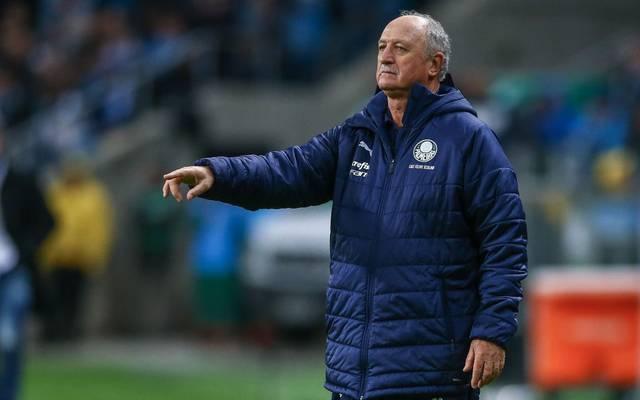 Felipe Scolari coachte Palmeiras letzte Saison noch zum Titel
