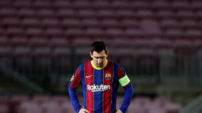 Lionel Messi enttäuscht in dieser Saison mit dem FC Barcelona