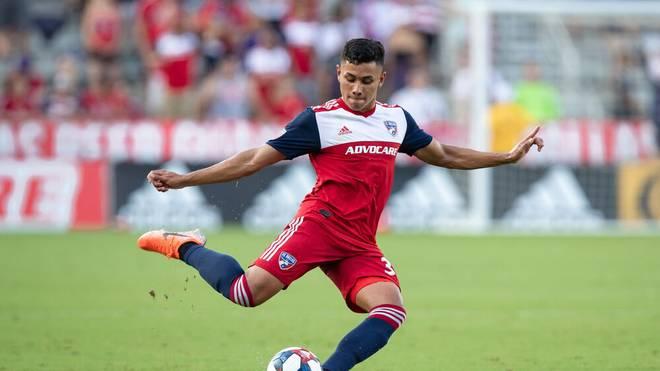 Edwin Cerrillo stand bereits 14 Mal für den FC Dallas in der MLS auf dem Platz