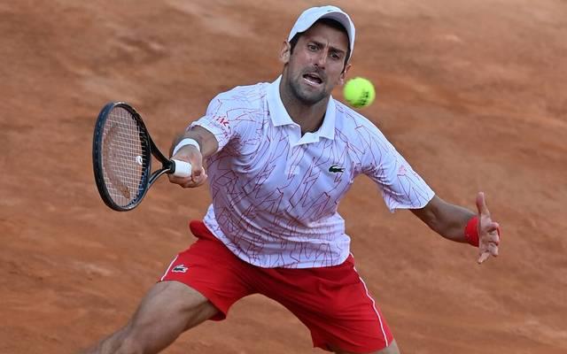 Novak Djokovic führt die ATP-Weltrangliste an