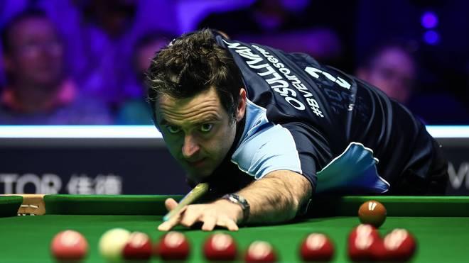 Ronnie O'Sullivan kämpft am Freitag um den Finaleinzug bei der Snooker-WM