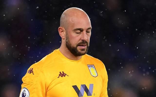 Pepe Reina spielt in der Premier League bei Aston Villa