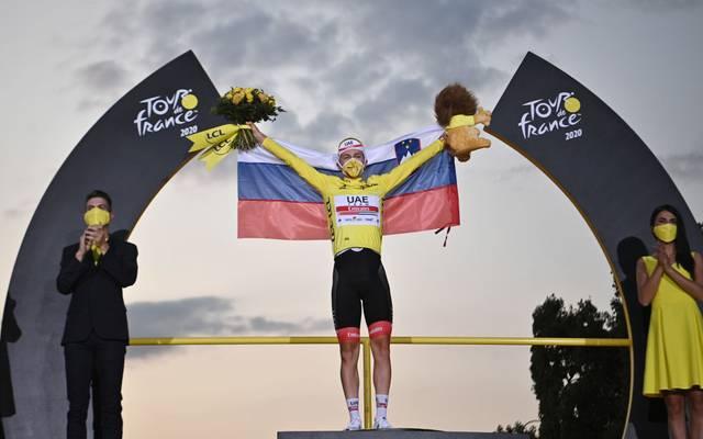 Tadej Pogacar gewann in diesem Jahr etwas überraschend die Tour de France