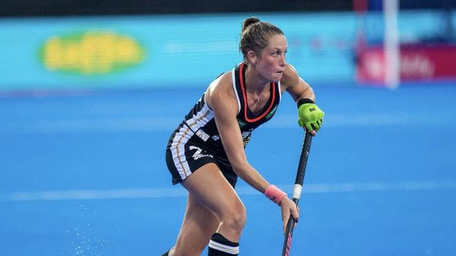 Cécile Pieper ist unter anderem EM-Zweite im Hockey und studiert Psychologie