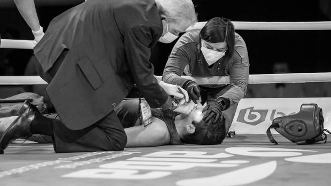 Der junge Boxer Rashed Al-Swaisat wurde bereits im Ring behandelt