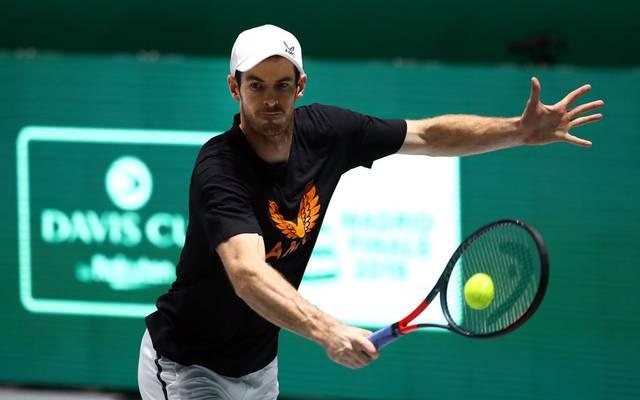Andy Murray pausiert seit November 2019