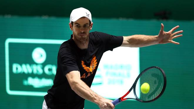 Andy Murray pausiert seit November 2019